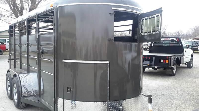 2017 Calico 6X16 Bumper Stock with tack  - Haysville KS