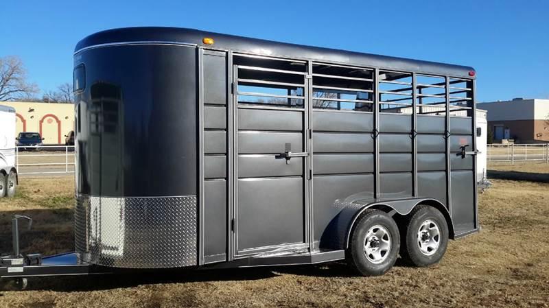 2016 Calico 3 Horse Slant Bumper Pull  - Haysville KS