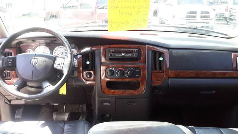 2005 Dodge Ram Pickup 3500 4dr Quad Cab Laramie 4WD LB - Haysville KS