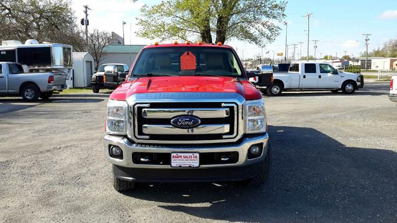 2014 Ford F-350 Super Duty 4x4 Lariat 4dr Crew Cab 8 ft. LB SRW Pickup - Haysville KS