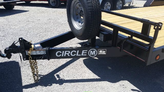 2015 Circle M 20' Bumper Pull Flat  - Haysville KS