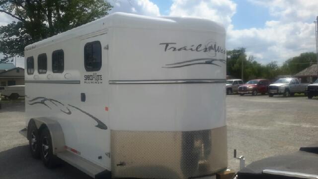 2015 Trails West Aluminum 3 Horse Bumper Pull S  - Haysville KS