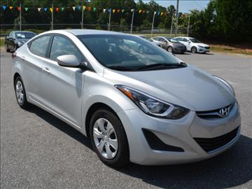 2016 Hyundai Elantra for sale in Piedmont, SC