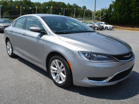 2016 Chrysler 200 for sale in Piedmont, SC