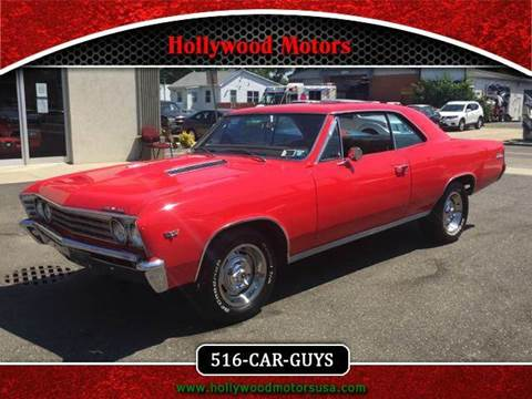 1967 chevrolet chevelle for sale new york for Hollywood motors west babylon