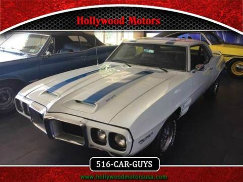 1969 pontiac firebird trans am for sale in massachusetts for Hollywood motors west babylon