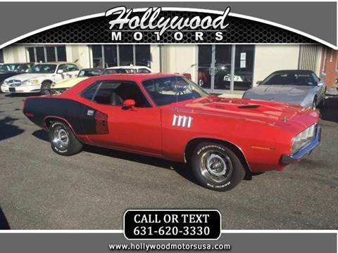 1971 plymouth barracuda for sale for Hollywood motors west babylon