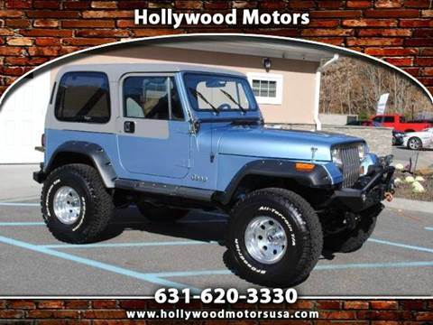 1989 jeep wrangler for sale for Hollywood motors west babylon