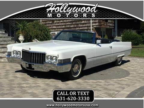 1970 cadillac deville for sale houston tx for Hollywood motors west babylon