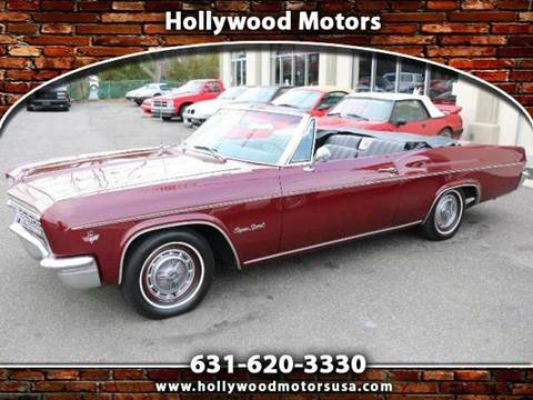 1966 chevrolet impala for sale for Hollywood motors west babylon