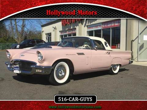 1957 ford thunderbird for sale for Hollywood motors west babylon