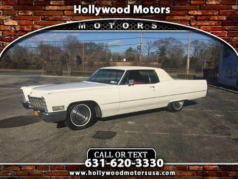 1968 cadillac deville for sale for Hollywood motors west babylon