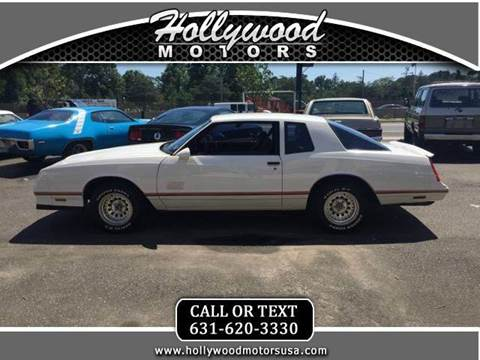 1987 chevrolet monte carlo for sale for Hollywood motors west babylon