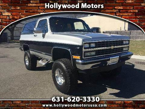 1989 chevrolet blazer for sale for Hollywood motors west babylon