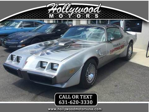 Pontiac trans am for sale for Hollywood motors west babylon