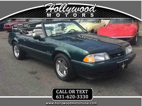 1990 ford mustang for sale for Hollywood motors west babylon