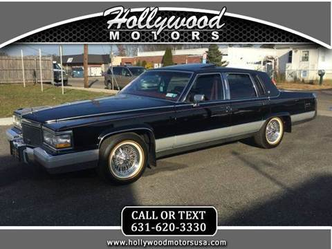 1990 cadillac brougham for sale for Hollywood motors west babylon