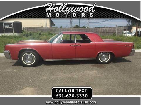 1963 lincoln continental for sale for Hollywood motors west babylon