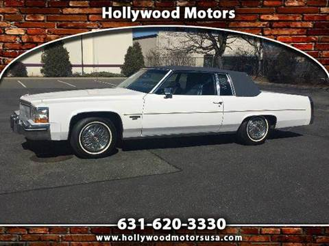 1983 cadillac deville for sale for Hollywood motors west babylon