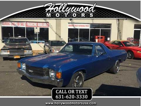 1972 chevrolet el camino for sale for Hollywood motors west babylon