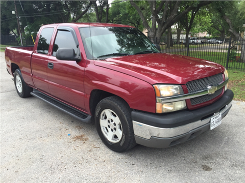 2004 Chevrolet Silverado 1500 for sale in Houston, TX