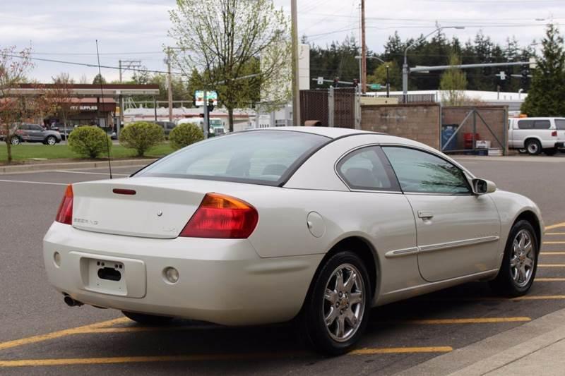 2001 Chrysler Sebring LXi 2dr Coupe - Lynden WA