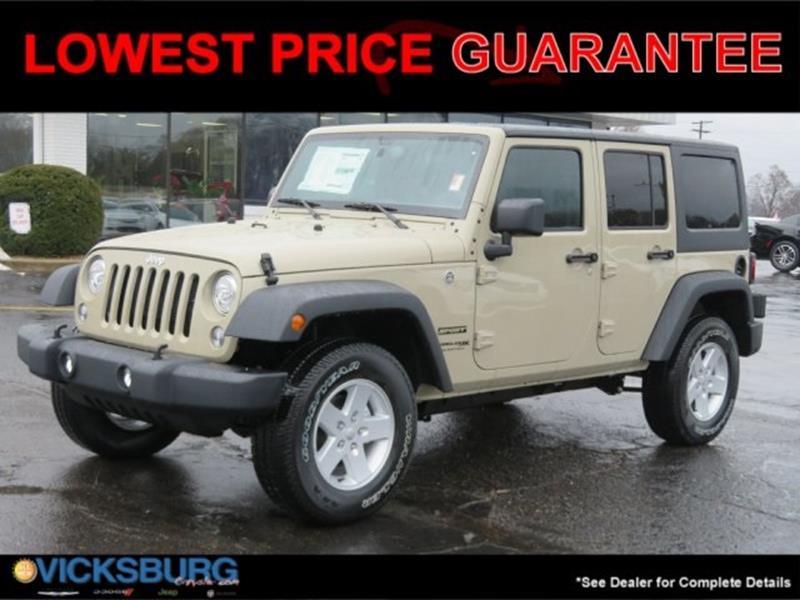2018 Jeep Wrangler Unlimited Unlimited Sport S In Kalamazoo MI ...