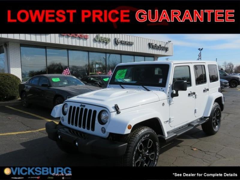 2018 Jeep Wrangler Unlimited Unlimited Alude In Kalamazoo MI ...