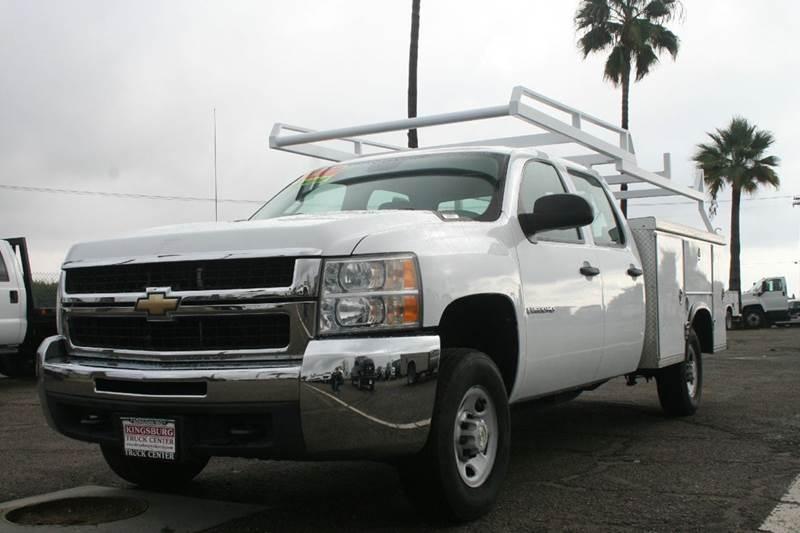 2009 Chevrolet Silverado 2500 Crew Cab UTILITY WORK TRUCK In Kingsburg CA - Utility Trucks ...