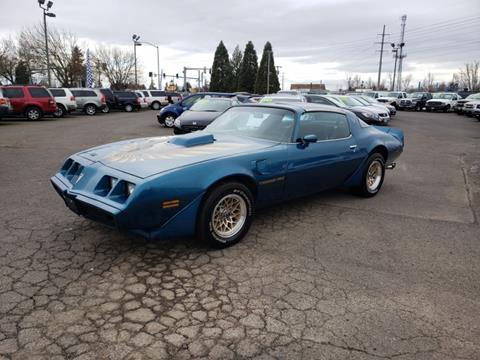 1979 Pontiac Trans Am for sale in Eugene, OR