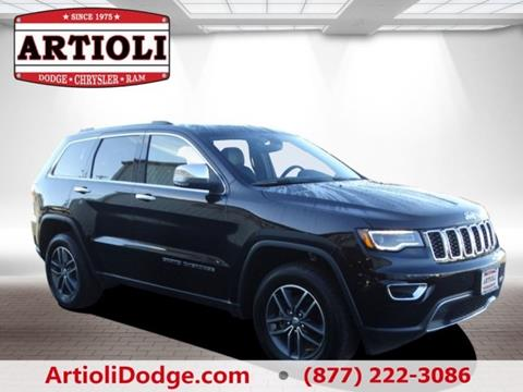 2017 Jeep Grand Cherokee for sale in Enfield CT