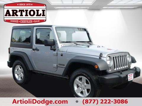 2016 Jeep Wrangler for sale in Enfield, CT