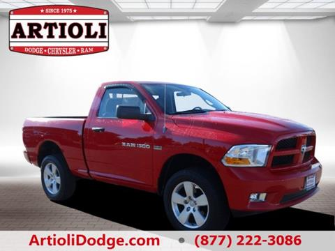 2011 RAM Ram Pickup 1500 for sale in Enfield CT