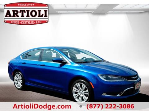 2016 Chrysler 200 for sale in Enfield CT
