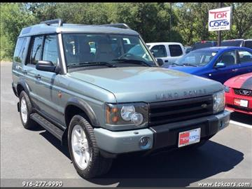 2004 Land Rover Discovery for sale in Sacramento, CA