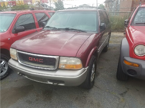 2001 GMC Jimmy for sale in Trenton, NJ