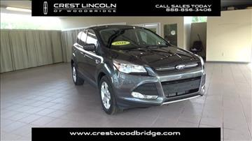 2016 Ford Escape for sale in Woodbridge, CT
