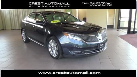 2014 Lincoln MKS for sale in Woodbridge, CT