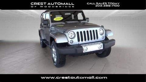 2014 Jeep Wrangler Unlimited for sale in Woodbridge, CT