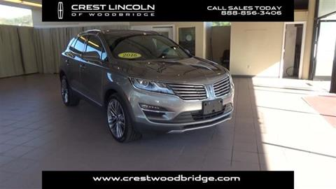 2016 Lincoln MKC for sale in Woodbridge, CT
