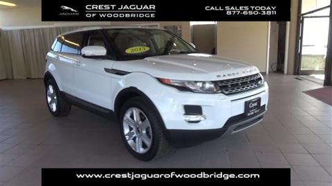 2013 Land Rover Range Rover Evoque for sale in Woodbridge, CT