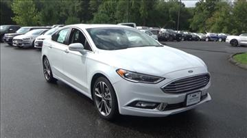 2017 Ford Fusion for sale in Niantic, CT