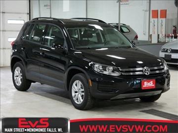 2017 Volkswagen Tiguan for sale in Menomonee Falls, WI