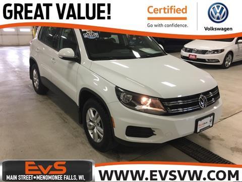 2015 Volkswagen Tiguan for sale in Menomonee Falls, WI