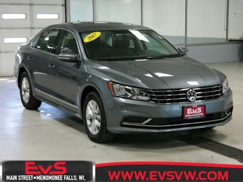 2017 Volkswagen Passat for sale in Menomonee Falls, WI