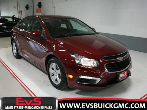 2016 Chevrolet Cruze Limited for sale in Menomonee Falls, WI