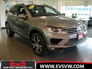 2017 Volkswagen Touareg for sale in Menomonee Falls, WI