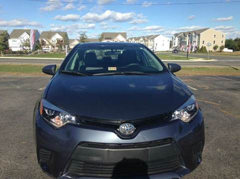 2015 Toyota Corolla for sale in Fredericksburg, VA