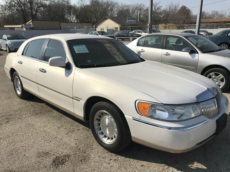 used 1998 lincoln town car for sale in texas. Black Bedroom Furniture Sets. Home Design Ideas