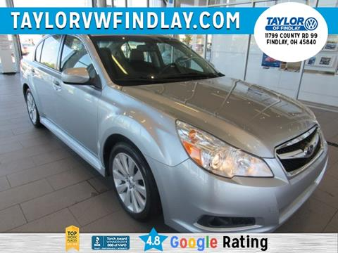 2012 Subaru Legacy for sale in Findlay, OH